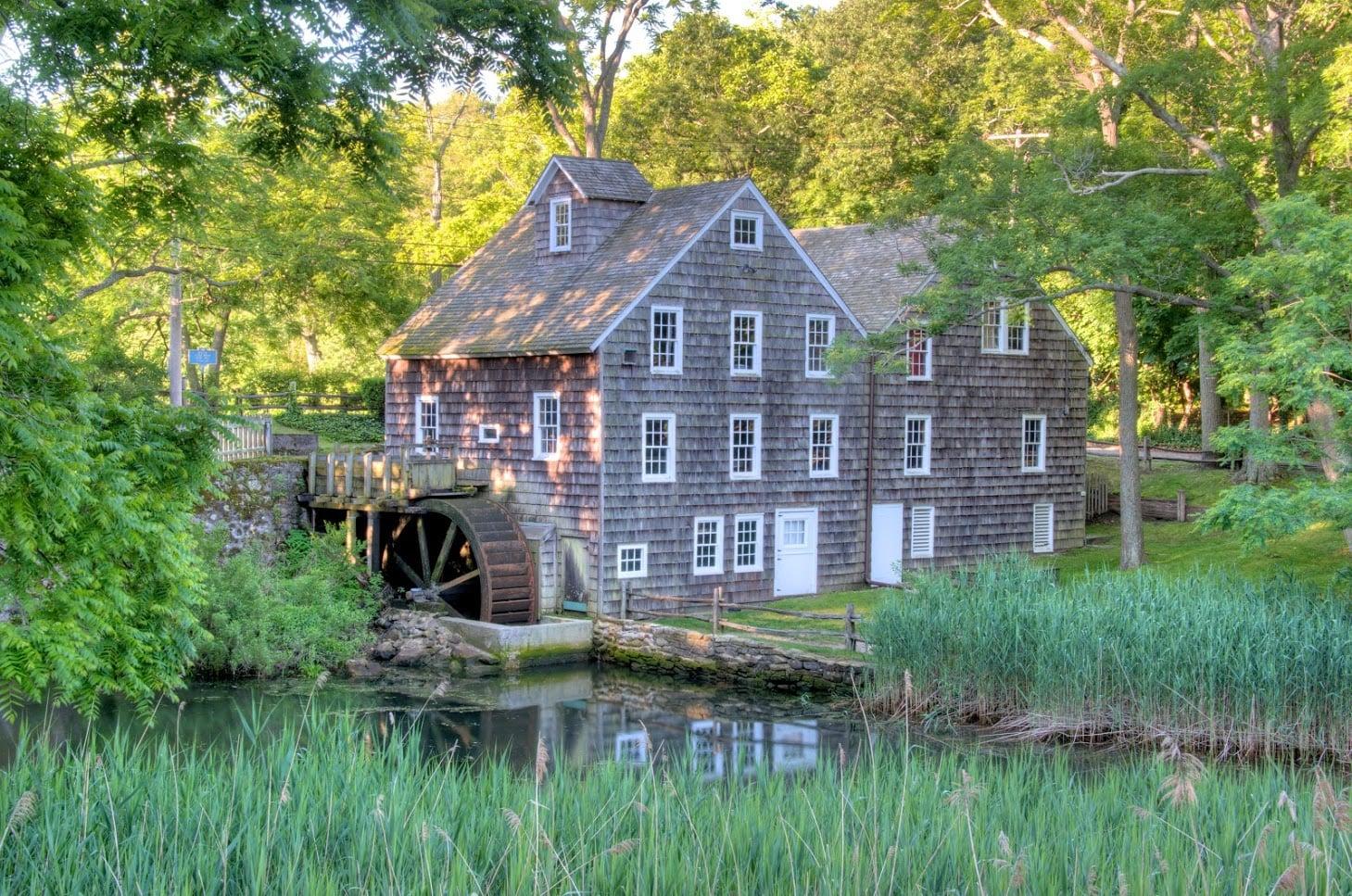 Stony Brook Grist Mill, Circa 1751