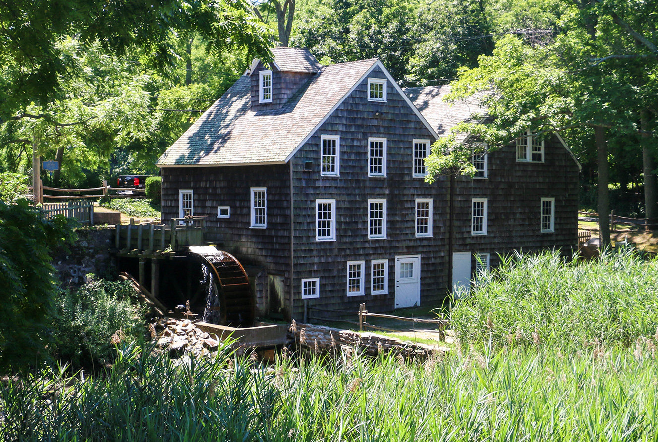 Stony Brook Grist Mill, Circa 1751